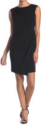 Calvin Klein Side Ruched Sheath Dress