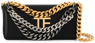 Tom Ford small Palmelatto triple-chain bag
