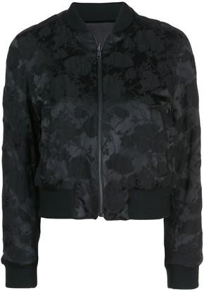 Ann Demeulemeester All-Over Print Bomber Jacket