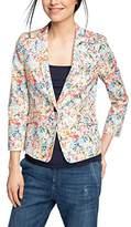 Esprit Women's Heave S Cotton Long Sleeve Jacket,12 (Manufacturer Size:38)