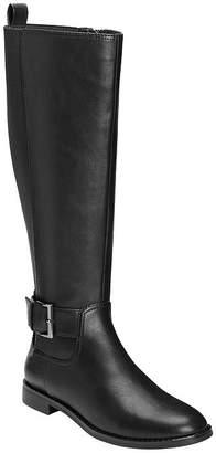 Aerosoles Womens Risk Taker Riding Flat Heel Boots