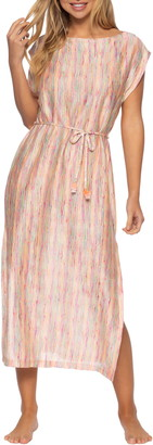 Isabella Rose Bavella Knit Midi Cover-Up Dress