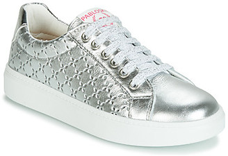 Pablosky Kids 277050-J girls's Shoes (Trainers) in Silver