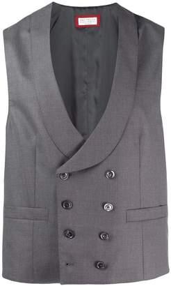 double-breasted waistcoat