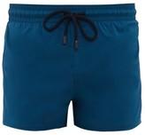 Vilebrequin High-cut Stretch-shell Swim Shorts - Mens - Blue Multi