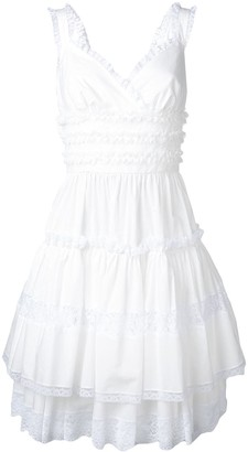 Dolce & Gabbana lace trim dress