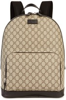 Gucci Gg Supreme Monogrammed Backpack