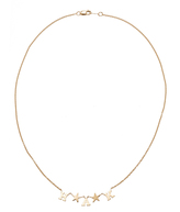 Emily and Ashley Monogrammable Star Necklace