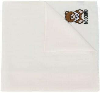 Moschino Logo-Print Scarf