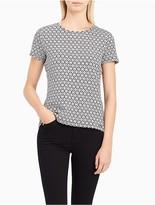 Calvin Klein Knit Geometric Top