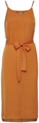 Ichi Crissy Dress - Russet Orange - M - Orange
