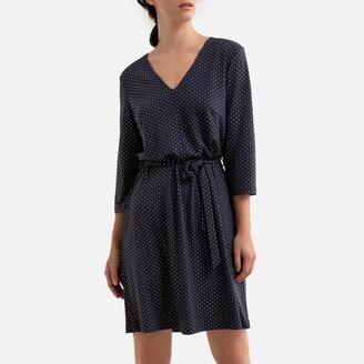 Vero Moda Short Polka-Dot Dress with V-Neck