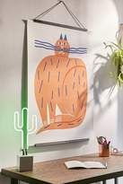 Urban Outfitters Marcus Oakley Cat Art Print