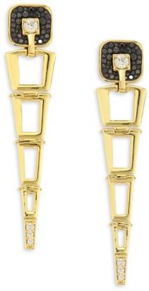 Plevé Opus Black Diamond & 18K Yellow Gold Egyptian Drop Earrings