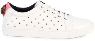 Kurt Geiger Ludo Embellished Leather Sneakers