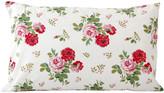 Cath Kidston Antique Rose Bouquet Pillowcase - White