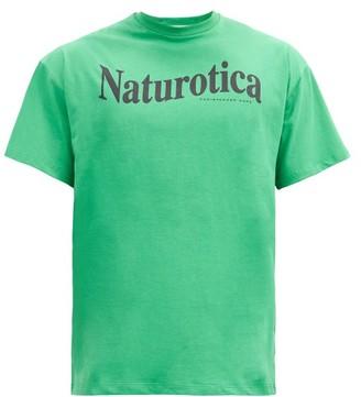 Christopher Kane Naturotica-print Cotton-jersey T-shirt - Green