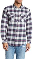 Burnside Long Sleeve Plaid Flannel Shirt
