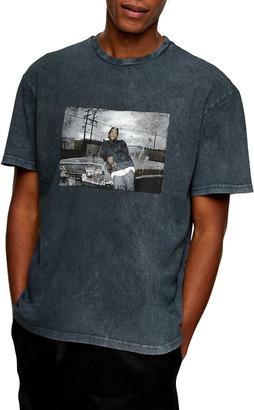 Topman Ice Cube Graphic Tee