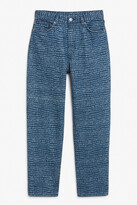 Thumbnail for your product : Monki Taiki printed jeans