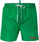 DSQUARED2 logo printed swim shorts - men - Nylon - 48