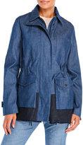Proenza Schouler Drawstring Denim Jacket