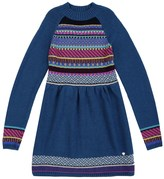 Juicy Couture Girls Sweater Fair Isle Dress
