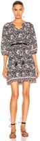 Natalie Martin Stevie Dress in Vintage Flowers Midnight | FWRD