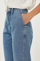 Topshop Displaced Seams Boyfriend Jeans by Boutique