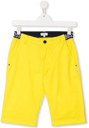Boss Kidswear Logo Waistband Shorts