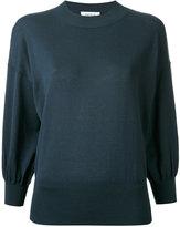 Enfold balloon sleeve sweater
