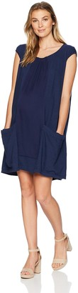 Maternal America Women's Front Panel Dress
