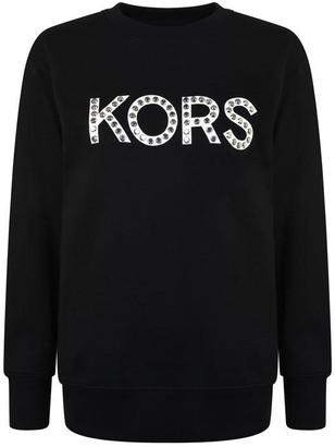 MICHAEL Michael Kors Stud Logo Sweatshirt