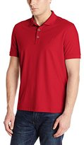 Nautica Men's Solid Polo Shirt, Red