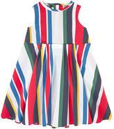 Marni Striped poplin dress