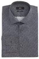 BOSS Men's Slim Fit Floral Dress Shirt