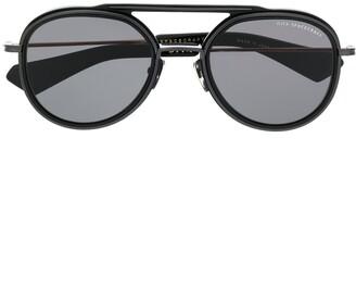 Dita Eyewear Side-Frames Aviator Sunglasses