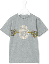 Billionaire Kids - logo print T-shirt - kids - Cotton/Spandex/Elastane - 2 yrs