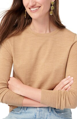 J.Crew Margot Crewneck Re-Imagined Wool Sweater