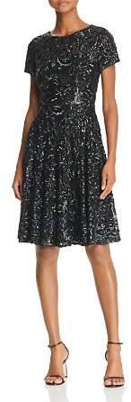 Aidan Mattox Sequined Party Dress