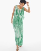 Chico's Palm Maxi Dress