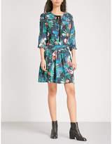 Zadig & Voltaire Remus Jungle woven mini dress