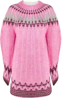 MM6 MAISON MARGIELA Contrast Front Knitted Sweater