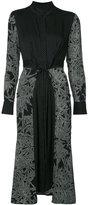 Diane von Furstenberg flared cinch-waist dress - women - Silk/Spandex/Elastane - 10