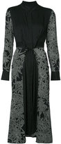 Diane von Furstenberg flared cinch-waist dress
