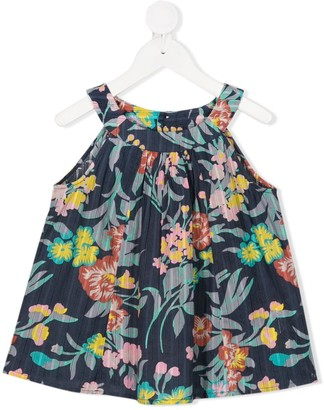 Bonpoint Floral Print Tunic Top