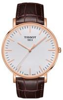 Tissot Women's Everytime Swissmatic Leather Strap Watch, 40Mm