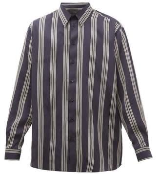 Joseph Martin Striped Shirt - Mens - Navy