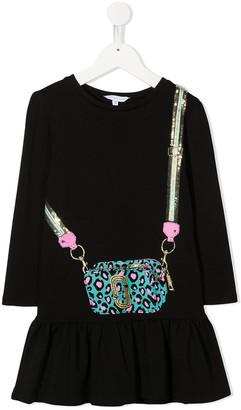The Marc Jacobs Kids Crossbody Bag-Print Dress
