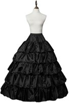 Botong Women's Petticoat Long Skirt